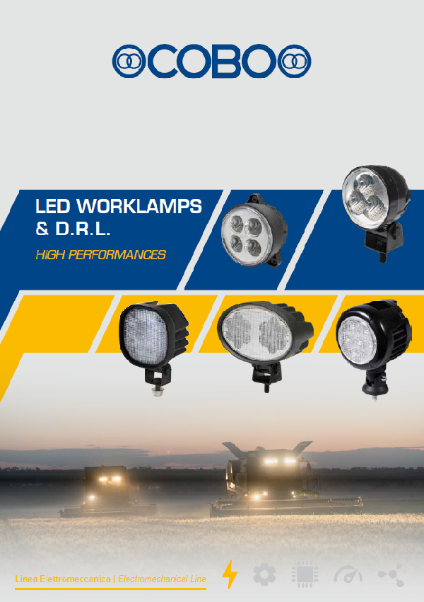 LED WORKLAMPS & D.R.L